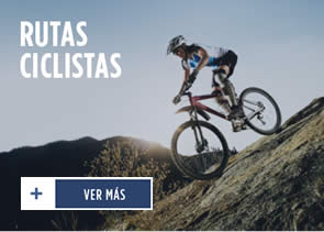 Paseo en bicicleta sobre montaña
